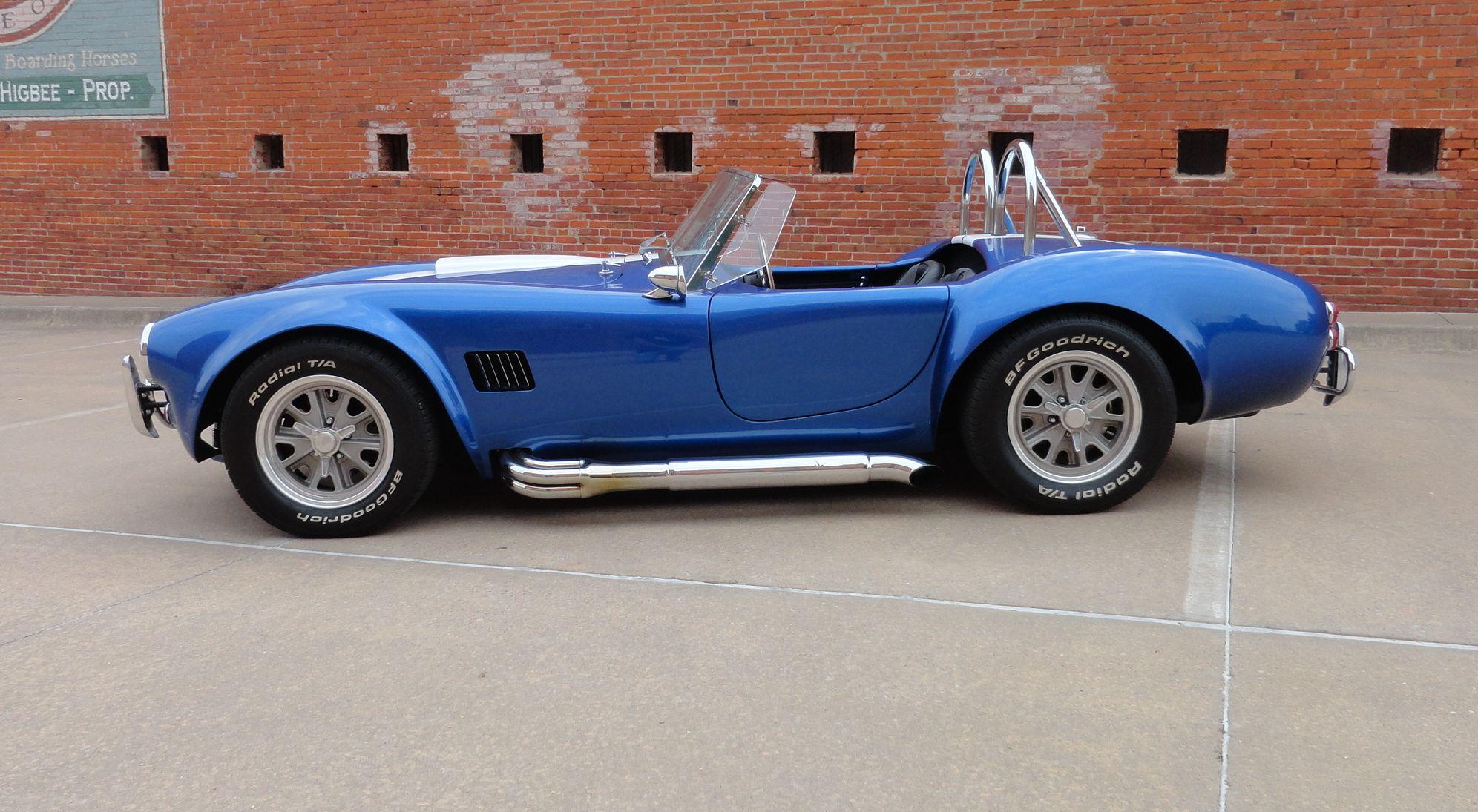 Cobra Kit Car >> 65 Cobra Replica For Sale